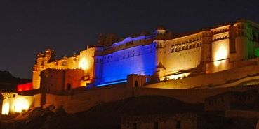 Amber Fort Light Show