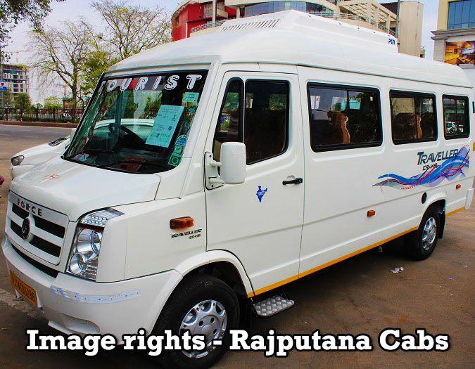 Rajputana Cabs Tempo Traveller 2017