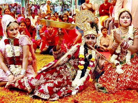 Festivals celebrated at the Govind Dev