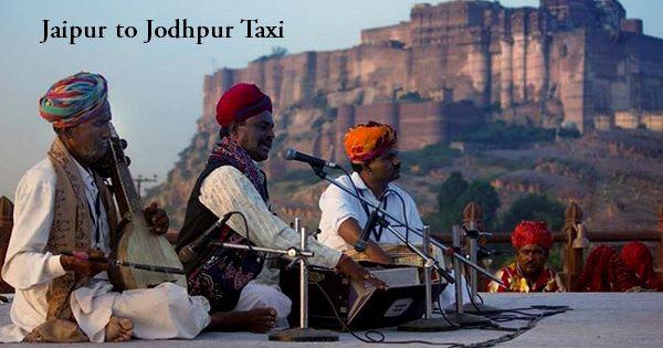 Jaipur to Jodhpur taxi