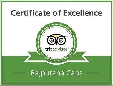 Tripadvisor award to Rajputana Cabs