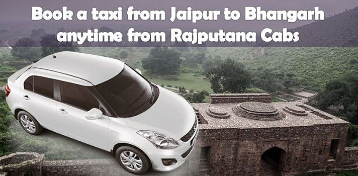 Taxi for Bhangarh from Jaipur City