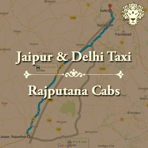 Jaipur & Delhi Taxi by Rajputana Cabs