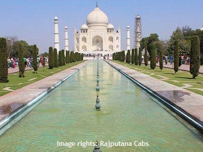 Outstation trip Taj