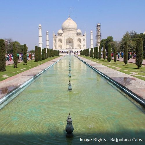 Taj Mahal in 2017