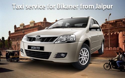 Taxi service for Bikaner from Jaipur