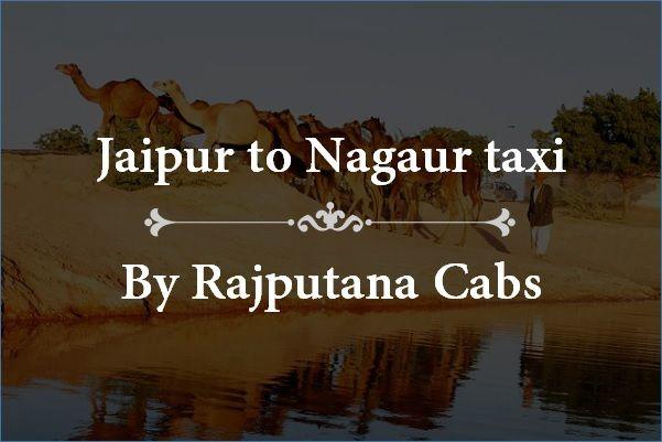 Jaipur to Nagaur taxi