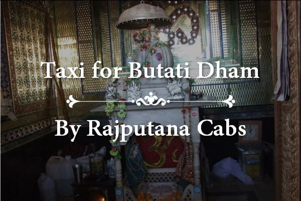 Taxi for Butati Dham from jaipur