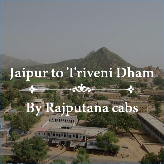 Jaipur to Triveni Dham Taxi service