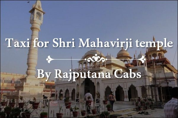Taxi for Shri Mahavirji temple