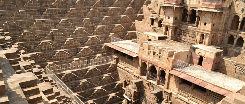 chand baori at Abhaneri near Jaipur