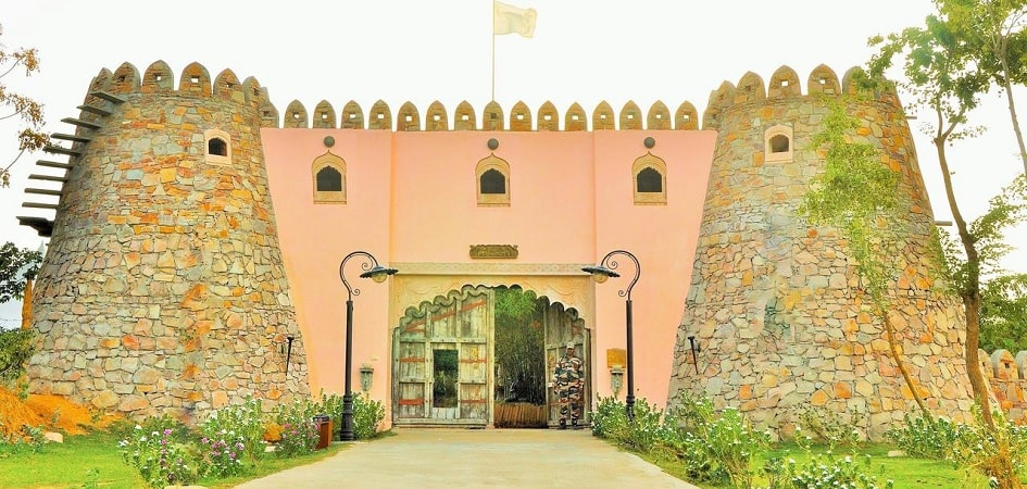 Lohagarh fort resort in jaipur