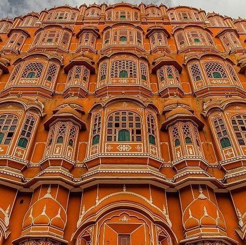 Hawa Mahal in Pink city Jaipur