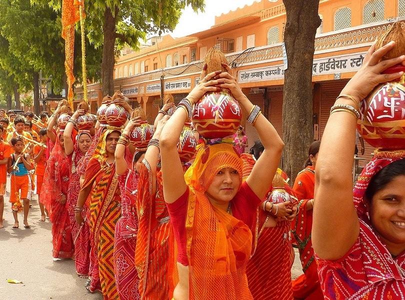 Teej festival in Jaipur