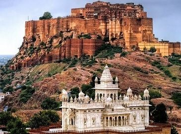Mehrangarh Fort and Jaswant Thada Jodhpur