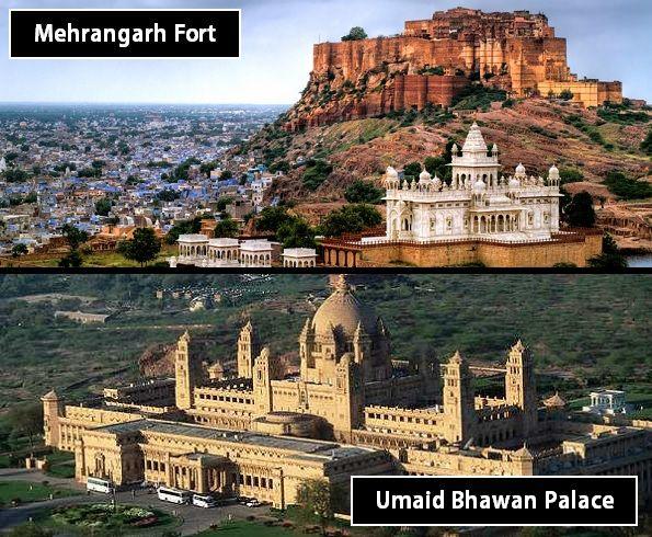 Mehrangarh Fort and Umaid Bhawan Palace
