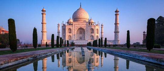 Taj Mahal at Evening