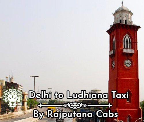Delhi Ludhiana Taxi
